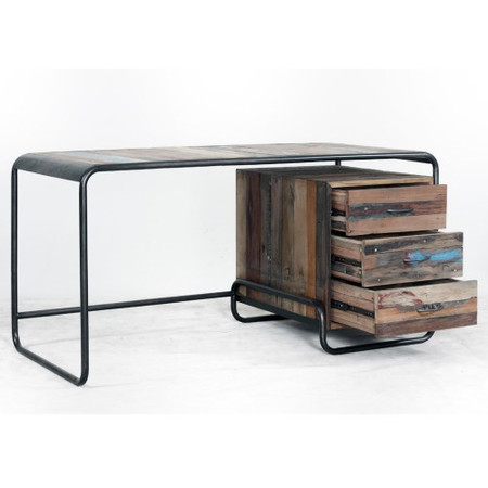 Signature North Reclaimed Boat Retro Office Desk