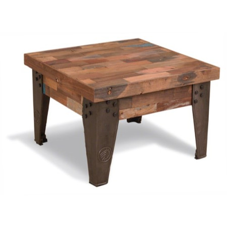 Signature North Reclaimed Square Coffee Table