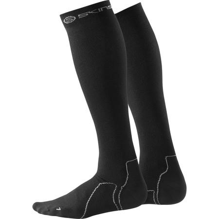 Skins Bio Essentials Comp Socks Recovery - Small Black