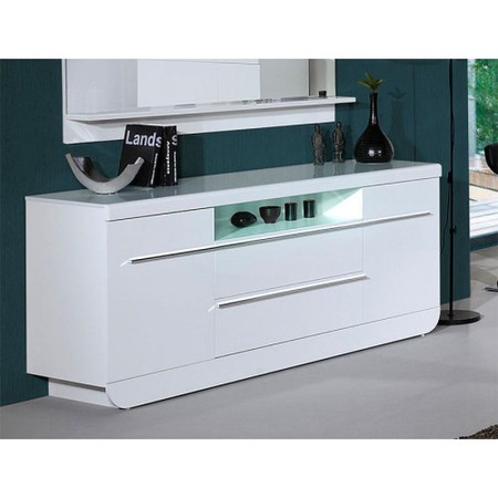 Skylight Floyd 36 High Gloss Sideboard In White