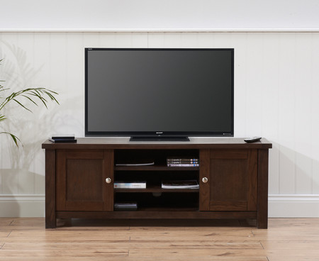 Somerset Dark Oak TV Cabinet