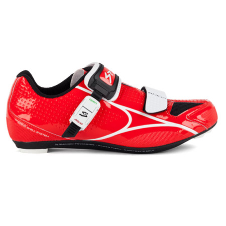 Spiuk Brios Road Shoe - 38 Red/White   Road Shoes