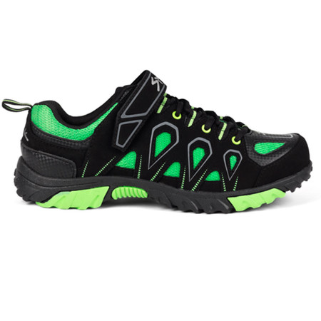 Spiuk Linze MTB Shoes - 47 Black/Green | Offroad Shoes