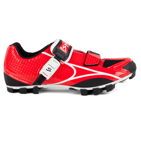 Spiuk Risko MTB Shoe - 37 Red/White   Offroad Shoes