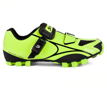 Spiuk Risko MTB Shoe - 48 Yellow/Black   Offroad Shoes