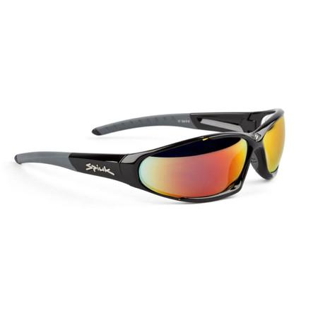 Spiuk SONIC II Sunglasses - Revo Red Black   Performance Sunglasses