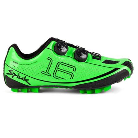 Spiuk Z16MC MTB Shoe - 39 Green/Black   Offroad Shoes