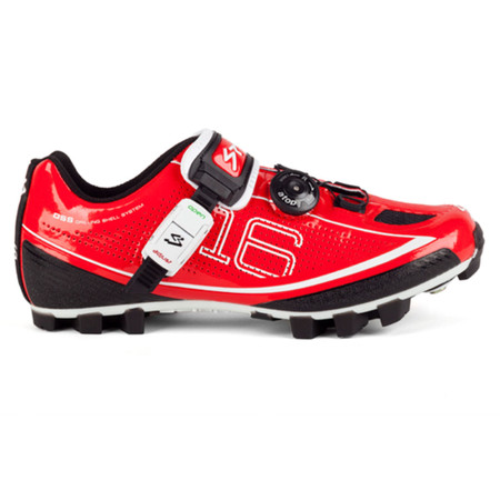 Spiuk Z16M MTB Shoe - 39 Red   Offroad Shoes