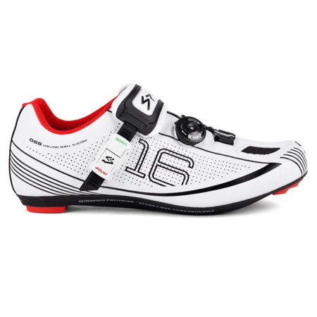 Spiuk Z16R Road Shoes - 41 White/Black | Road Shoes