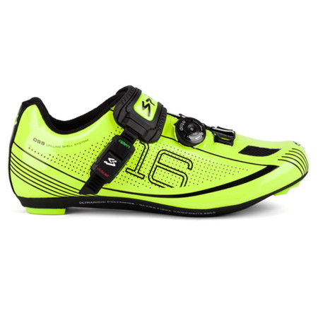Spiuk Z16R Road Shoes - 48 High Vis Yellow/Blac   Road Shoes