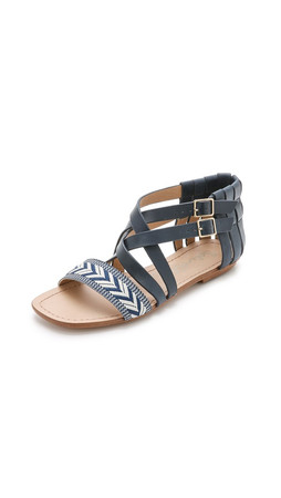 Splendid Tallia Sandals - Dark Navy