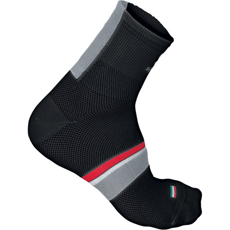 Sportful BodyFit Pro 9cm Socks - 36-39 Black/Red | Cycle Socks
