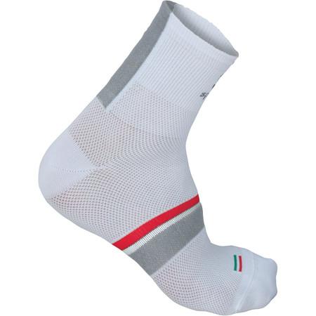 Sportful BodyFit Pro 9cm Socks - 40-43 White/Black-Red | Cycle Socks