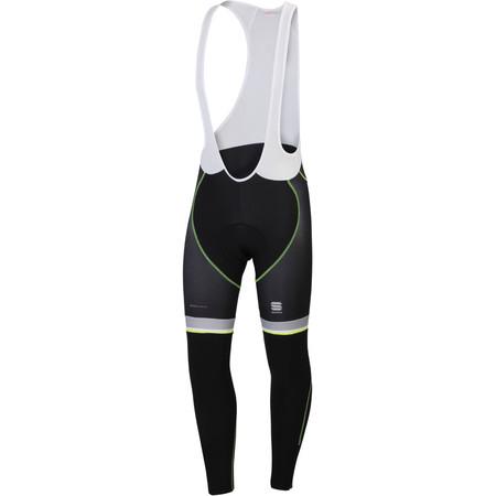 Sportful BodyFit Pro Thermal Bibtight - Large Black/Yellow Fluro