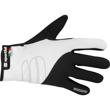 Sportful Essential Windstopper Glove - Small Black/White