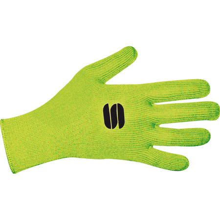 Sportful Impronta Gloves - Small Yellow Fluro | Winter Gloves