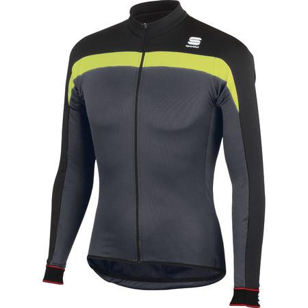 Sportful Pista Full Zip Long Sleeve Jersey - X Small