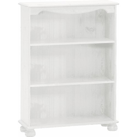 Steens Richmond 2 Shelf Bookcase In White
