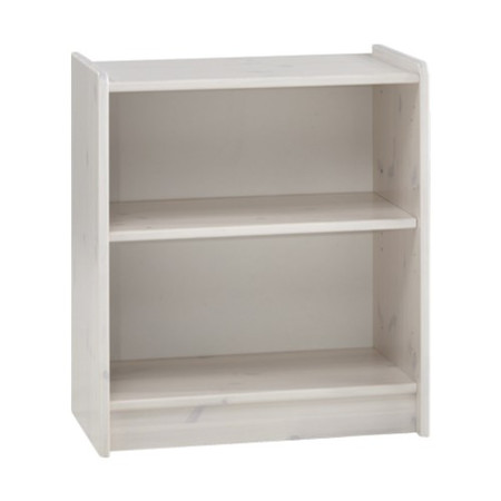 Steens  For Kids Low Bookcase In Whitewash