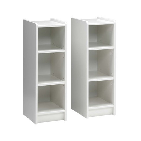 Steens  For Kids Pair of Bookshelves In White