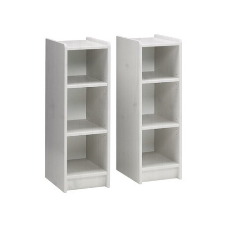 Steens  For Kids Pair of Bookshelves In Whitewash
