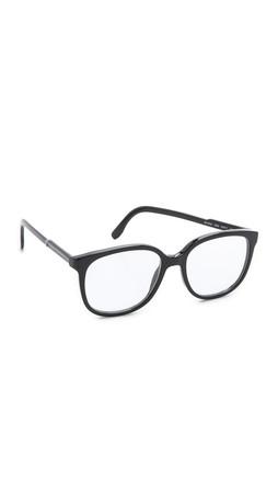 Stella Mccartney Oversized Square Glasses - Black