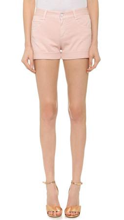 Stella Mccartney Skinny Shorts - Pale Pink