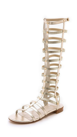 Stuart Weitzman Gladiator Sandals - Cava