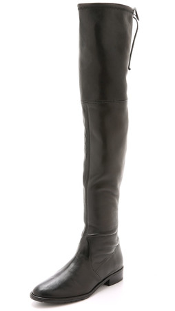 Stuart Weitzman Lowland Over The Knee Boots - Nero