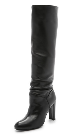 Stuart Weitzman Monique Boots - Black