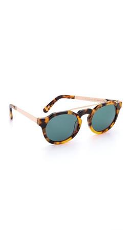 Sunday Somewhere Heeyeh Sunglasses - Marble Tortoise/Dark Grey