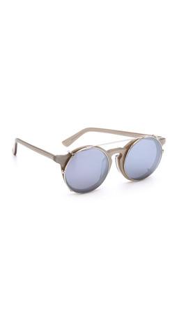 Sunday Somewhere Matahari Fashion Sunglasses - Silver