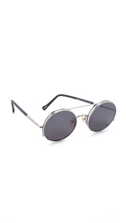 Sunday Somewhere Valentine Sunglasses - Silver/Grey