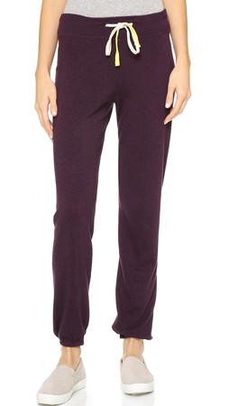 Sundry Basic Sweatpants - Aubergine