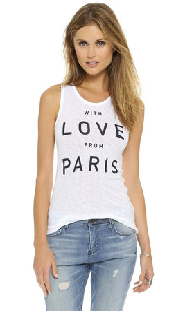 Sundry From Paris Classic Tank - White