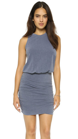 Sundry Sleeveless Dress - Midnight Pigment