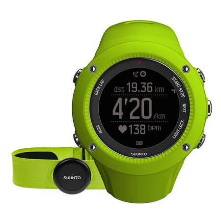 Suunto Suunto Ambit 3 Run GPS Running Watch with HRM - Lime