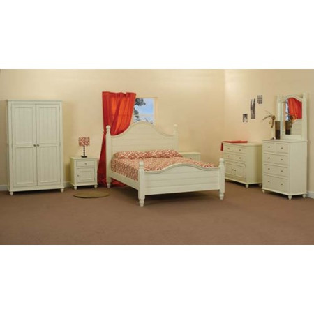 Sweet Dreams Rosalie Solid Pine Bedroom Furniture Set - with kingsize bed