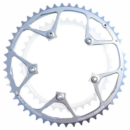TA 110 PCD Nerius CT-Campagnolo Outer Chainring - 50T Silver