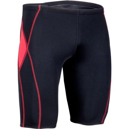 """TYR Titan Splice Jammer - 30"""" Black/Red | Adult Swimwear"""