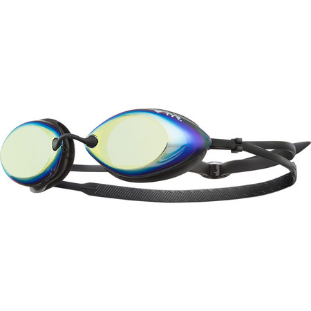 TYR Tracer Race Mirrored Goggles - One Size Orange