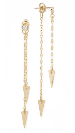 Tai Arrow Earrings - Gold