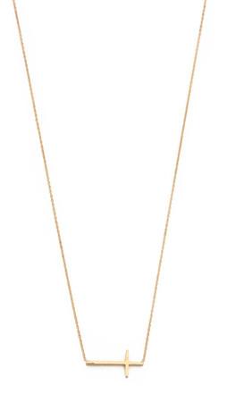 Tai Cross Necklace - Gold