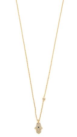 Tai Hamsa Necklace - Gold Multi