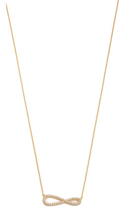 Tai Infinity Necklace - Gold