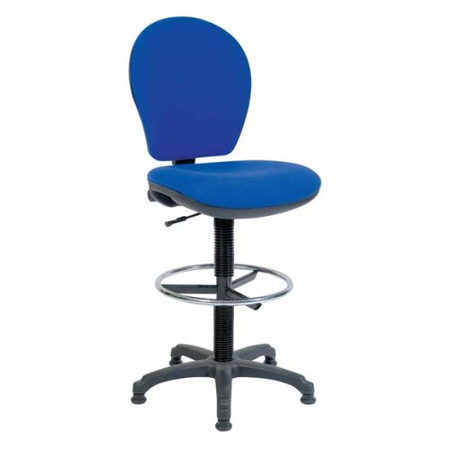 Teknik Office Frances Office Draughting Chair - blue