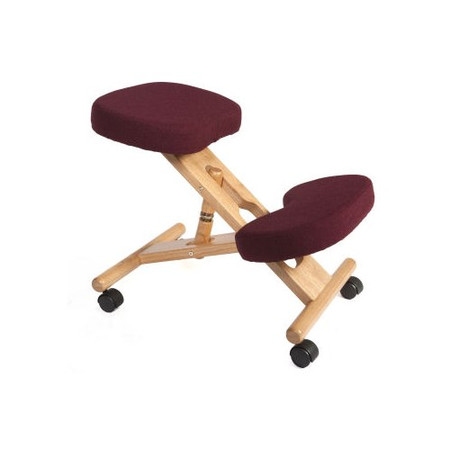 Teknik Office Molly Office Kneeling Chair - burgundy