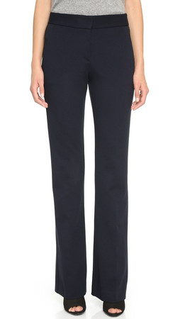 Theory Fixture Ponte Garetto Pants - Navy
