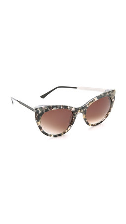 Thierry Lasry Bunny Sunglasses - Grey Tortoise/Brown