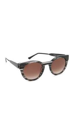 Thierry Lasry Creamily Sunglasses - Black/Brown